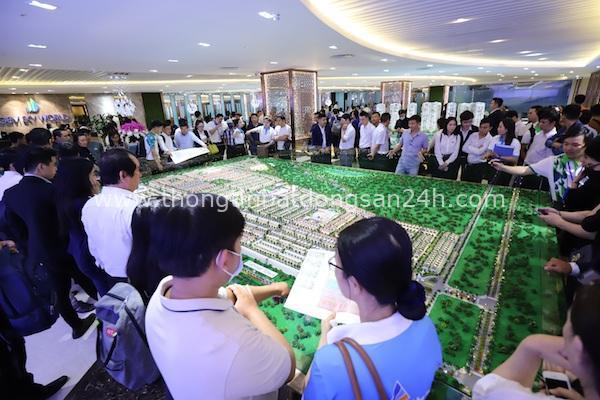 """Bất động sản Long Thành """"dậy sóng"""": Hơn 1.500 khách đến tham quan dự án Gem Sky World 2"""