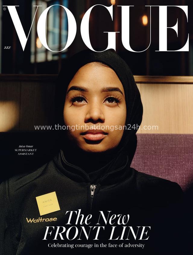 Bìa tạp chí thời trang nổi tiếng Vogue UK bất ngờ tôn vinh 3 người phụ nữ bình thường - Ảnh 3.