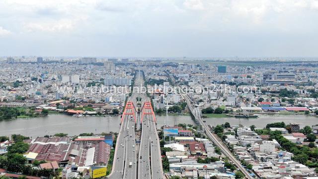 Chung cư trăm hoa đua nở dọc đại lộ đẹp nhất Sài Gòn - Ảnh 9.