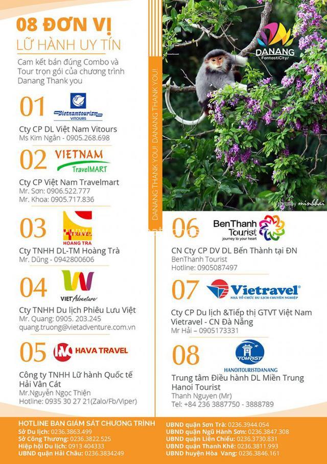 Đà Nẵng khởi động chiến dịch kích cầu hàng loạt, 150 doanh nghiệp cam kết tham gia: Miễn phí vé vào cửa nhiều địa điểm, tour 3 ngày 2 đêm chỉ 2 triệu đồng - Ảnh 2.
