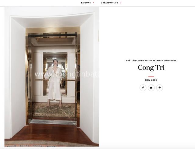 Đẹp ná thở trên Vogue Pháp, Thanh Hằng và Hồ Ngọc Hà đẳng cấp trong trang phục của Công Trí: Tinh hoa hội tụ là đây! - Ảnh 1.