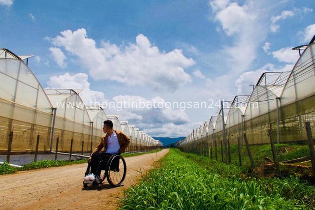 Đi phượt 30 tỉnh/thành bằng xe lăn, nam thanh niên 29 tuổi mong có bằng lái quốc tế để chinh phục các nước láng giềng - Ảnh 11.