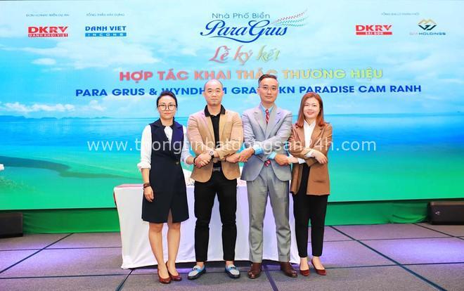 DKRV và Wyndham Grand KN Paradise Cam Ranh ký kết chương trình ưu đãi dành cho khách hàng Para Grus