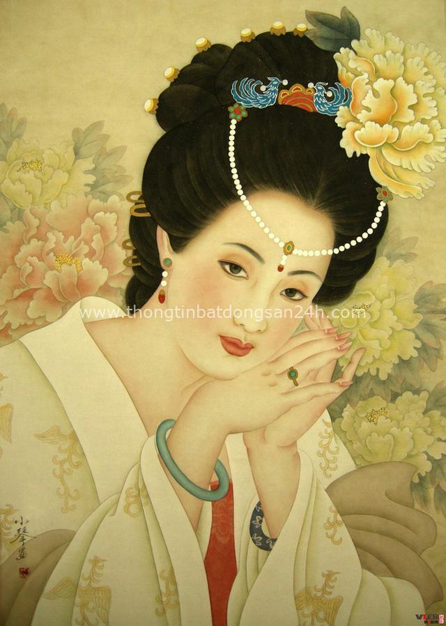 Dương Quý phi vốn là sủng phi đẫy đà ở triều Đường, rốt cuộc hoàng đế đã giải nhiệt mùa hè cho người mũm mĩm như bà ra sao? - Ảnh 1.