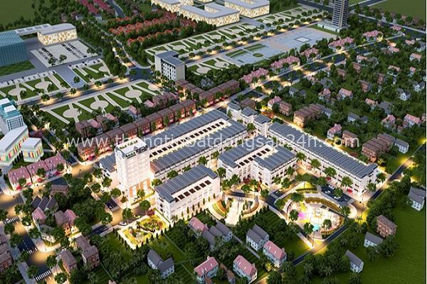 Phối cảnh dự án Điền Viên – Tịnh Ấn Tây Quảng Ngãi