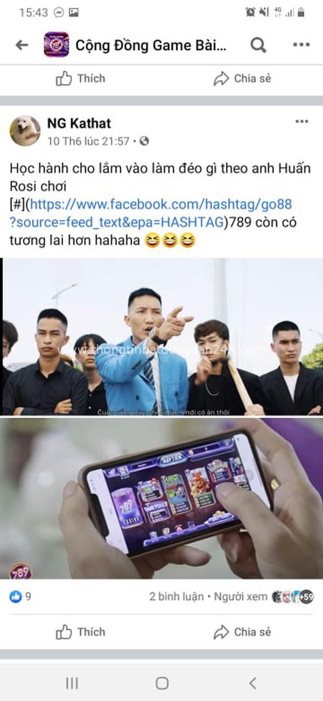Giang hồ mạng Huấn Hoa Hồng ngang nhiên làm MV quảng cáo game đánh bạc: Có thể bị xử lý hình sự - Ảnh 18.