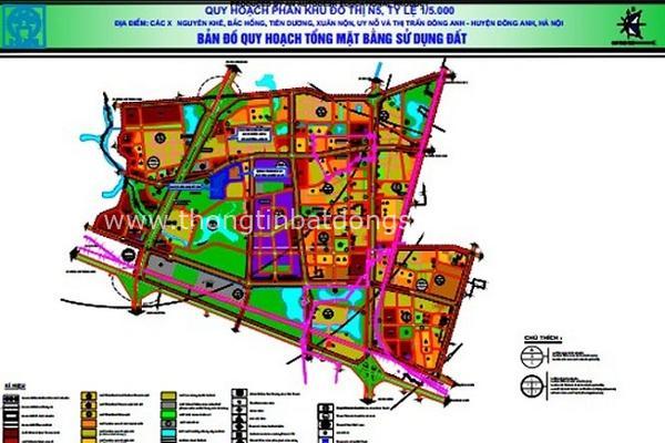 Hà Nội thông qua đồ án quy hoạch khu đô thị gần 614 ha ở Đông Anh 1