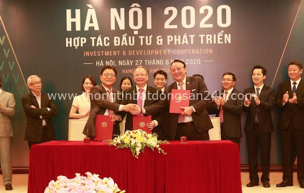 """Hà Nội và Tân Hoàng Minh ký Biên bản ghi nhớ cam kết đầu tư 2 dự án """"khủng"""" 1"""