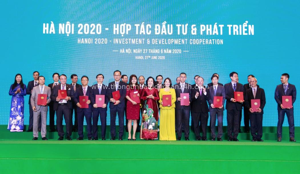 """Hà Nội và Tân Hoàng Minh ký Biên bản ghi nhớ cam kết đầu tư 2 dự án """"khủng"""" 2"""