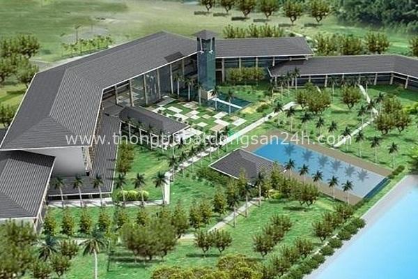 Dự án sân golf và biệt thự sinh thái Cam Ranh có diện tích 171,90ha được phối cảnh trước đây