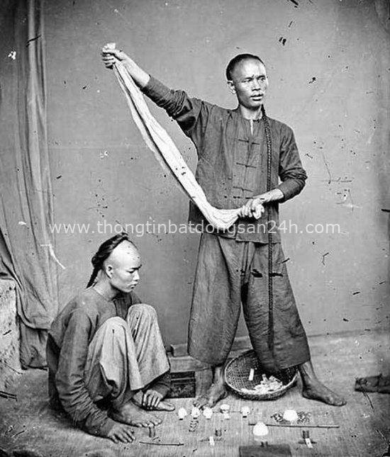 Loạt ảnh triều nhà Thanh nửa cuối thế kỷ 19: Khoảng cách giữa giới thượng lưu, trung lưu và bình dân khiến người xem phải ngỡ ngàng - Ảnh 11.