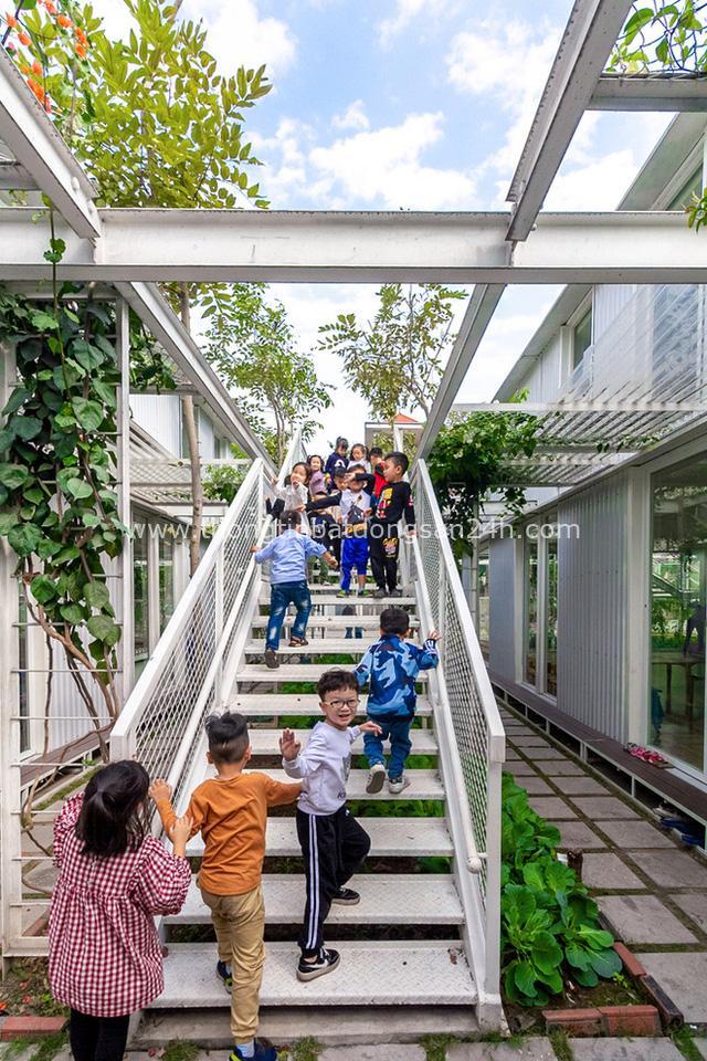Lớp học giữa không gian cây và hoa tại thành phố Hạ Long - Ảnh 10.