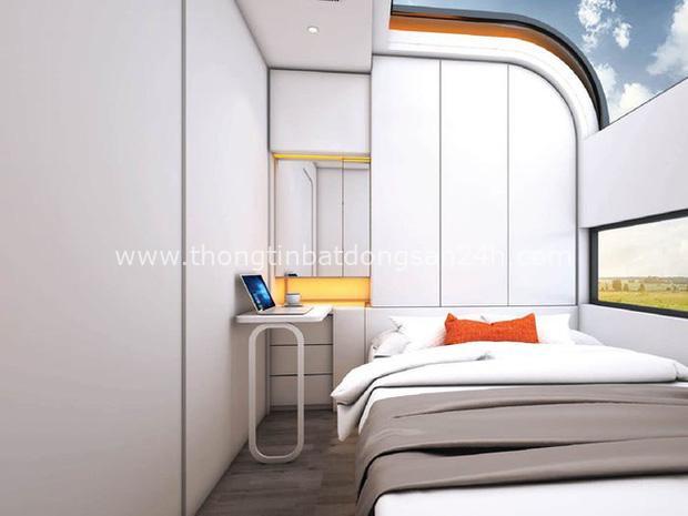 Ngôi nhà mini như bước ra từ phim viễn tưởng, gọn gàng nhưng đủ không gian cho gia đình 4 người - Ảnh 4.