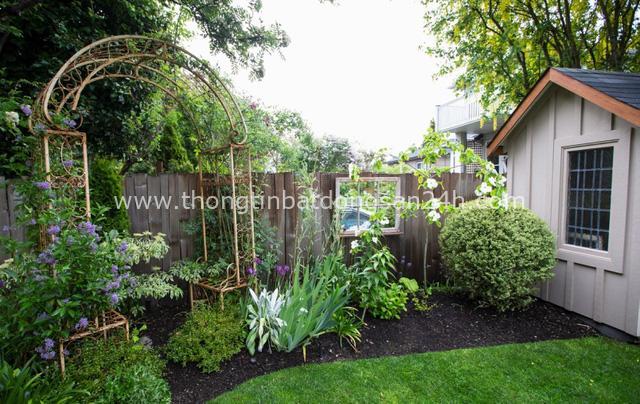 Ngôi nhà yên bình bên khoảng sân vườn xanh tươi với điểm nhấn đặc biệt này có thể hạ gục mọi ánh nhìn - Ảnh 3.
