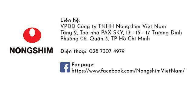 Nhã Phương chính thức là Đại Sứ Thương Hiệu nước ngoài đầu tiên của nhãn hàng Nongshim - Ảnh 3.
