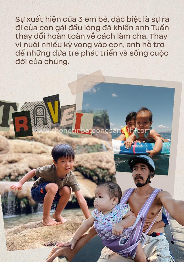 """Ông bố Hà Nội bỏ việc vì nghiện con: Cùng con """"đi đu đưa"""" từ 6 tháng tuổi, 3 tuổi đã """"thả"""" con đi khám phá đảo hoang, cứu hộ rùa - Ảnh 7."""