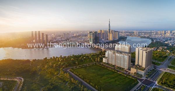 The River Thu Thiem là một trong những dự án bất động sản cao cấp của Khu đô thị Thủ Thiêm, TP HCM