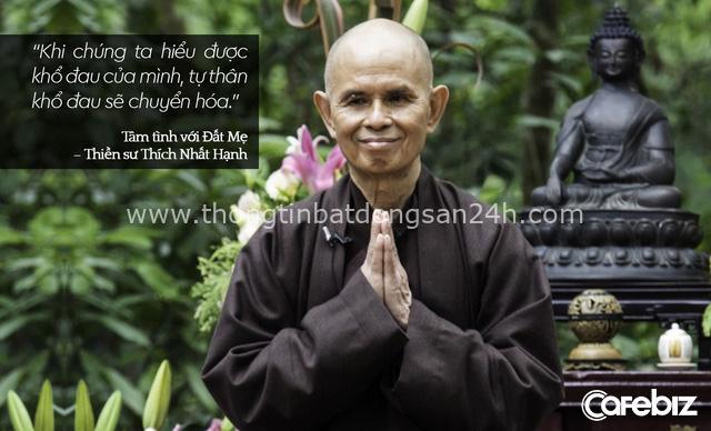 Thiền sư Thích Nhất Hạnh: Muốn vượt qua những nỗi khổ niềm đau bên trong, chúng ta cần chăm sóc chúng chứ không phải trốn chạy chúng! - Ảnh 1.