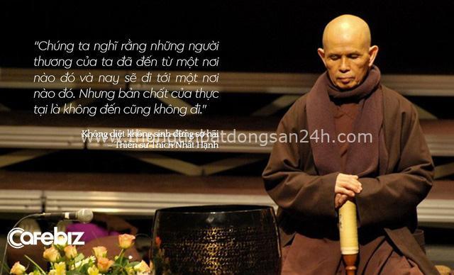 Thiền sư Thích Nhất Hạnh: Muốn vượt qua những nỗi khổ niềm đau bên trong, chúng ta cần chăm sóc chúng chứ không phải trốn chạy chúng! - Ảnh 2.
