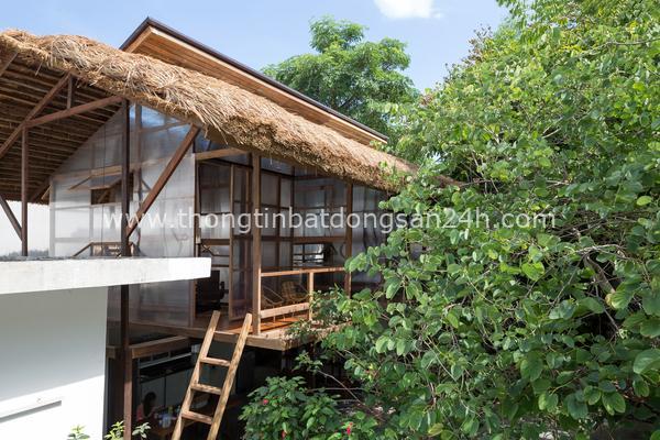 'Túp lều' gỗ nhỏ ở TP Huế 9