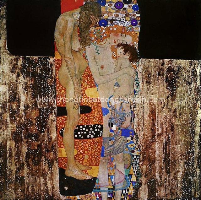 Tuyệt phẩm Nụ hôn của Gustav Klimt: Tình yêu thanh thản và mê say - Ảnh 8.