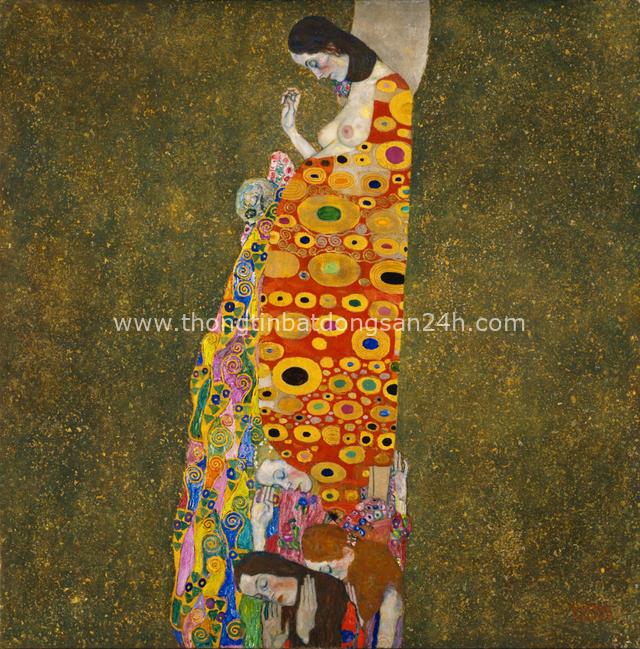Tuyệt phẩm Nụ hôn của Gustav Klimt: Tình yêu thanh thản và mê say - Ảnh 10.