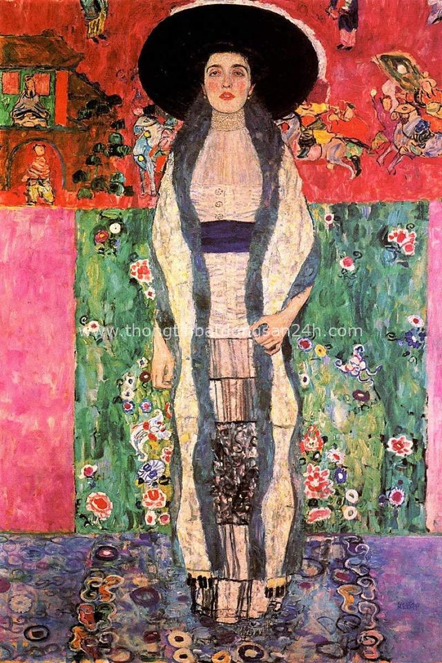 Tuyệt phẩm Nụ hôn của Gustav Klimt: Tình yêu thanh thản và mê say - Ảnh 11.