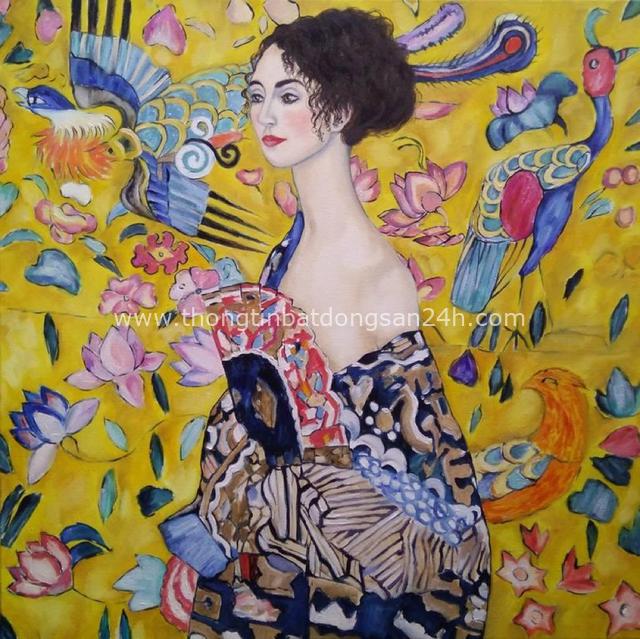 Tuyệt phẩm Nụ hôn của Gustav Klimt: Tình yêu thanh thản và mê say - Ảnh 15.