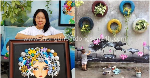 Bỏ ra 2 triệu, mẹ đảm ở Đà Nẵng trang trí lại không gian sống đẹp như mơ chỉ từ những món đồ tái chế mà ai cũng bỏ đi 6