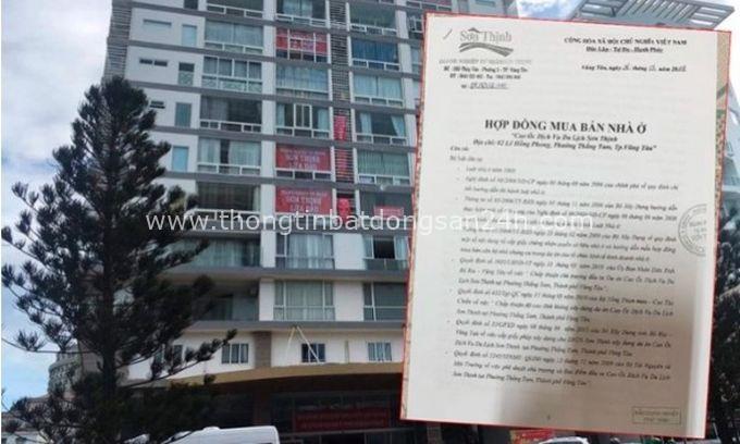 Vũng Tàu: Bán condotel, hợp đồng lại ghi là nhà ở 9