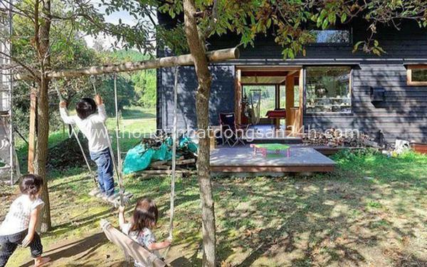 """Bỏ phố về vùng nông thôn, gia đình 5 người biến cuộc sống trong ngôi nhà gỗ thành """"thiên đường"""" ai cũng ước mơ 5"""