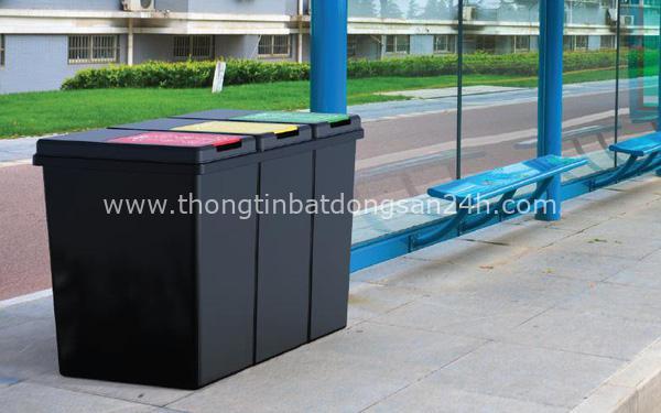 Vai trò của thùng rác nhựa trong môi trường sống hiện đại 1