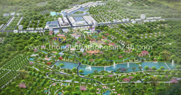 """2 đại gia """"bắt tay"""" phát triển đại đô thị sinh thái quy mô 120ha tại Bình Phước 4"""