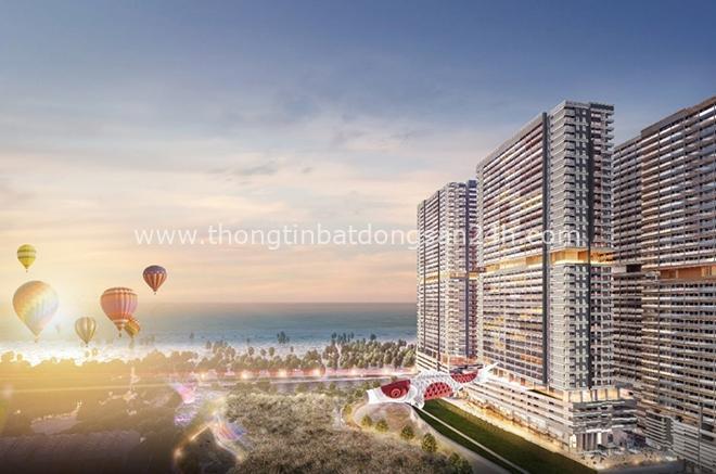 Khu đô thị Takashi Ocean Suite Kỳ Co được phát triển theo phong cách Nhật Bản bên vịnh Quy Nhơn