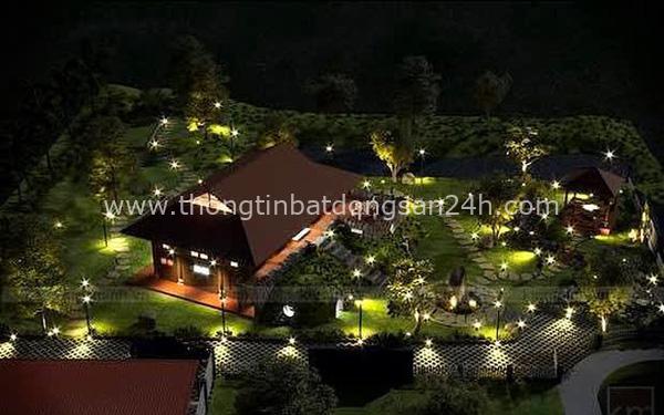 """Biệt phủ rộng thênh thang, kết cấu như resort của Xuân Bắc: Được xây bằng gỗ tự nhiên, nhìn toàn cảnh sân vườn thôi mà """"choáng"""" 6"""