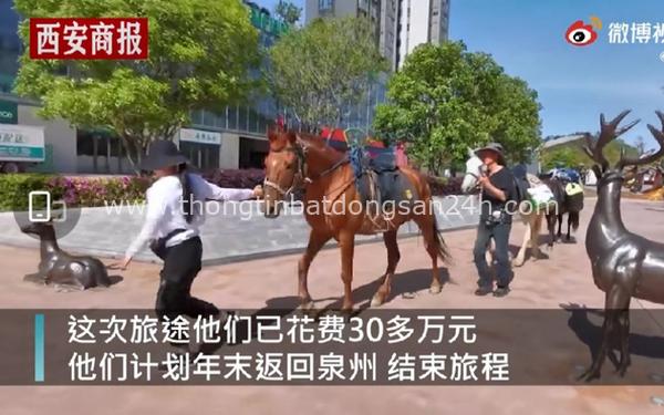 Chồng rủ vợ nghỉ việc, cưỡi ngựa đi du lịch khắp Trung Quốc 3